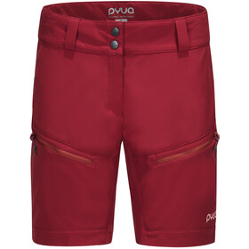 PYUA Track Shorts Women tomato red